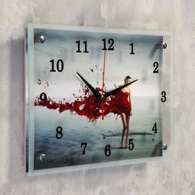 Wall clock, series: People,