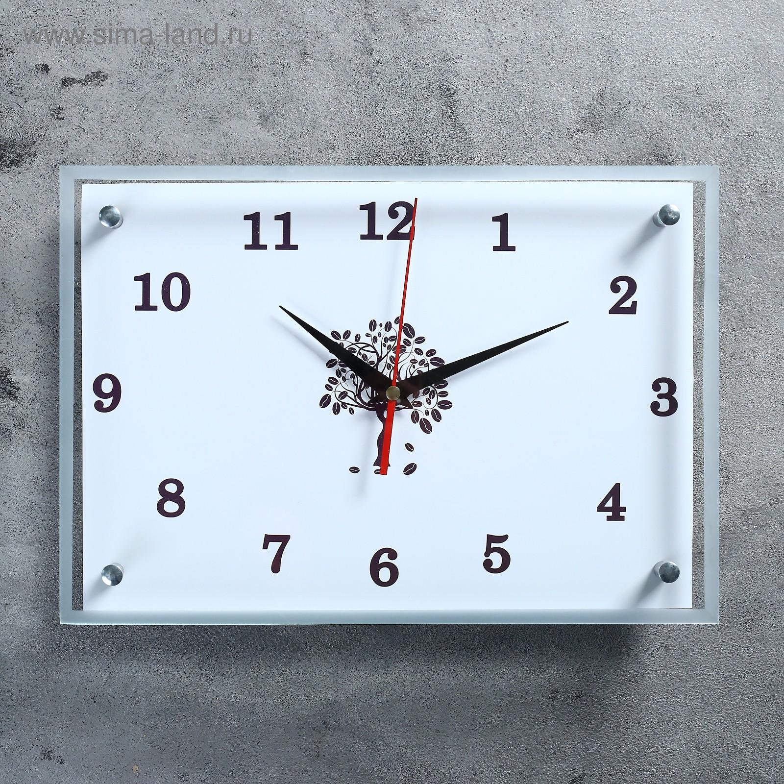Стильные часы на кухню