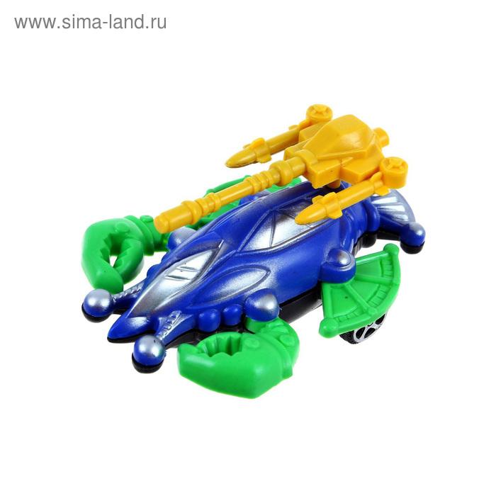 """Животное инерционное """"Краб"""", цвета МИКС"""