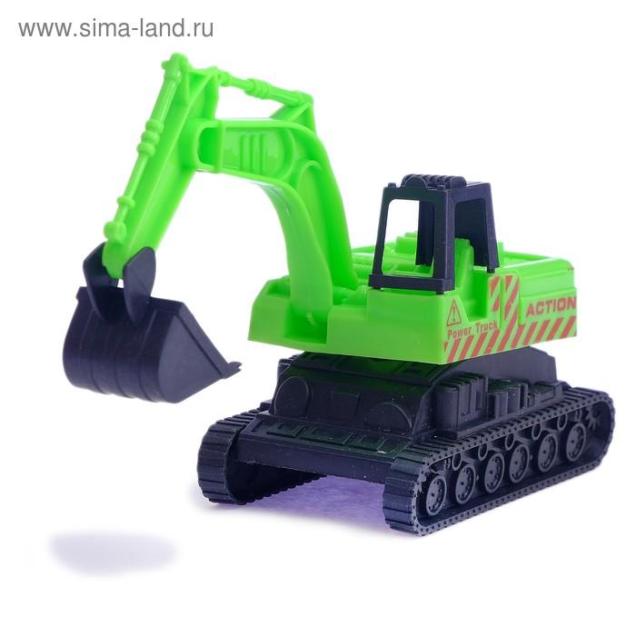 "Трактор ""Экскаватор"", цвета МИКС"