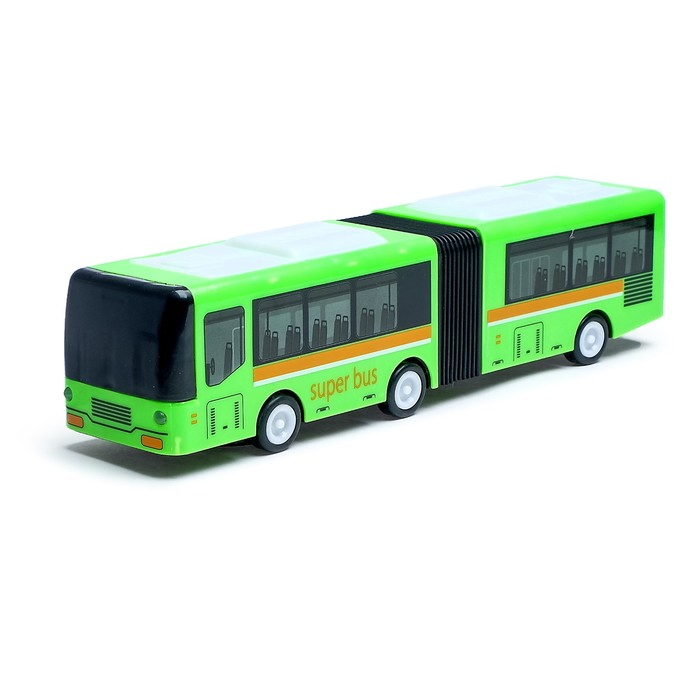 Автобус «Гармошка», световые и звуковые эффекты, работает от батареек, цвета МИКС - фото 105649278