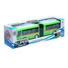 Автобус «Гармошка», световые и звуковые эффекты, работает от батареек, цвета МИКС - фото 105649283