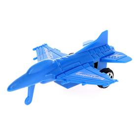 Самолёт инерционный 'Бомбардировщик', цвета МИКС Ош