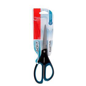 Ножницы Essentials Soft, 21 см, эргономичные ручки, мягкие вставки, европодвес