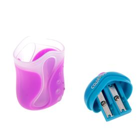 Sharpener 2 holes with a container Maped Color Pep's, mix.
