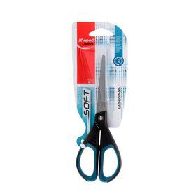 Ножницы Essentials Soft, 17 см, эргономичные ручки, мягкие вставки, европодвес