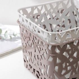Basket, universal 20.5x20.5x14.5, MIX color.