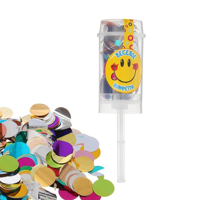"""Confetti in tube """"confetti Fun"""" 10 grams"""