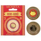 """Монета Фэн-шуй Деньги и богатство """"Горшок с золотом"""", 8,5х10,5 см"""