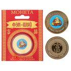 "Монета Фэн-шуй Деньги и богатство ""Хоттей"", 8,5х10,5 см"