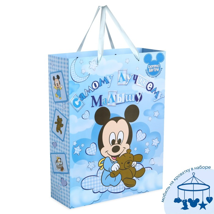 Vertical laminated bag for