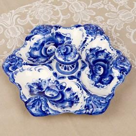 """Mananita """"Flower"""", 27×15×7 cm, Gzhel"""