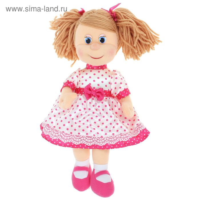 Музыкальная мягкая игрушка «Кукла Ляля в шёлковом платье»