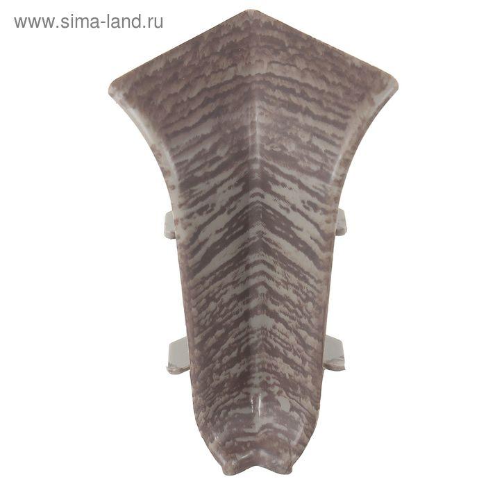 Угол внутренний для плинтуса (D) текстура (545 Дерево африканское)