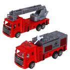 Машина инерционная «Пожарная охрана» (набор 2 шт), МИКС - фото 106539293