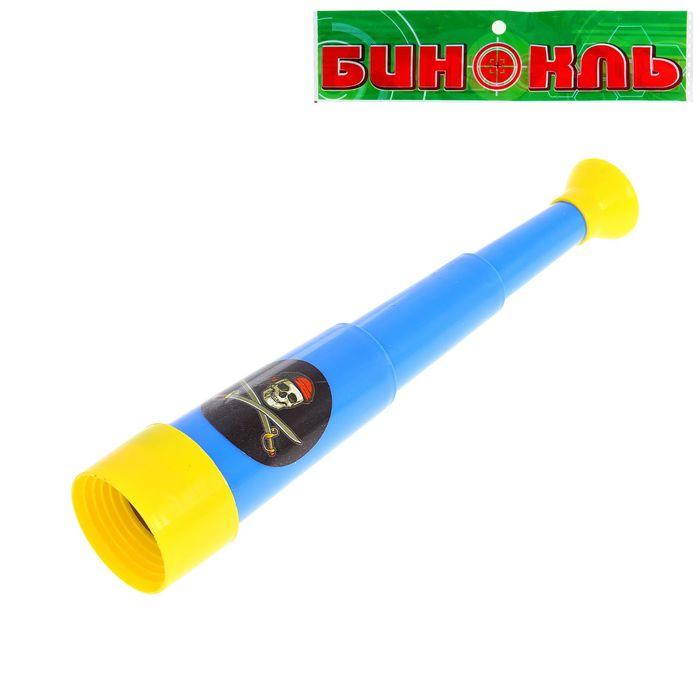 """Игрушка подзорная труба """"Капитан пиратов"""", раскладывается до 23 см, цвета МИКС"""