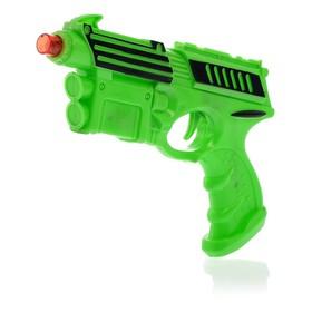 Пистолет «Супер пушка», световые и звуковые эффекты, работает от батареек, цвета МИКС