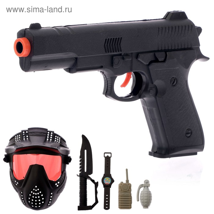 Набор полицейского «Миротворец», 6 предметов