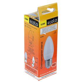 Lamp LED Ecola, E27, 6 W, 2700 K,
