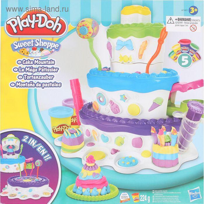 """Игровой набор для лепки """"Праздничный торт"""""""