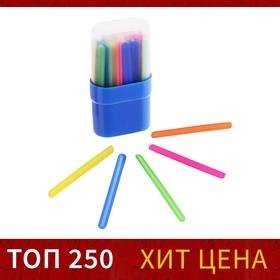 Счетные палочки 30 штук, микс, в пластиковом пенале Ош