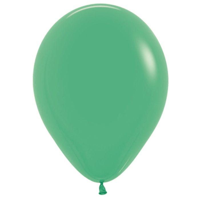"""Шар латексный 12"""", пастель, набор 100 шт., цвет зелёный 030 - фото 308467334"""
