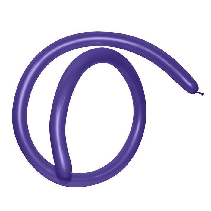 Шар для моделирования 260, пастель, набор 100 шт., цвет фиолетовый