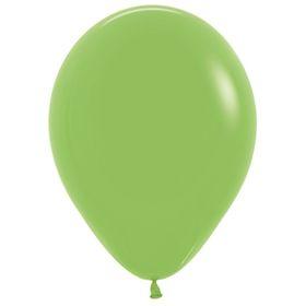 """Шар латексный 12"""", пастель, набор 100 шт., цвет светло-зелёный 031"""