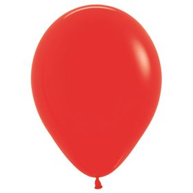 """Шар латексный 12"""", пастель, набор 100 шт., цвет красный 215"""