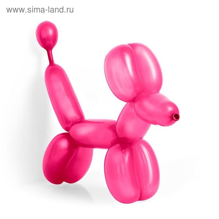 Шар для моделирования 260, пастель, набор 100 шт., цвет тёмно-розовый