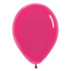 """Шар латексный 12"""", кристалл, набор 100 шт., цвет тёмно-розовый 312 - фото 148329565"""