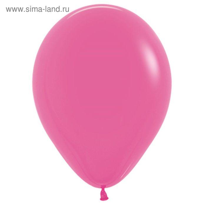 """Шар латексный 12"""", пастель, набор 100 шт., цвет тёмно-розовый"""