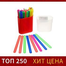 Счетные палочки 50 штук, микс, в пластиковом пенале Ош