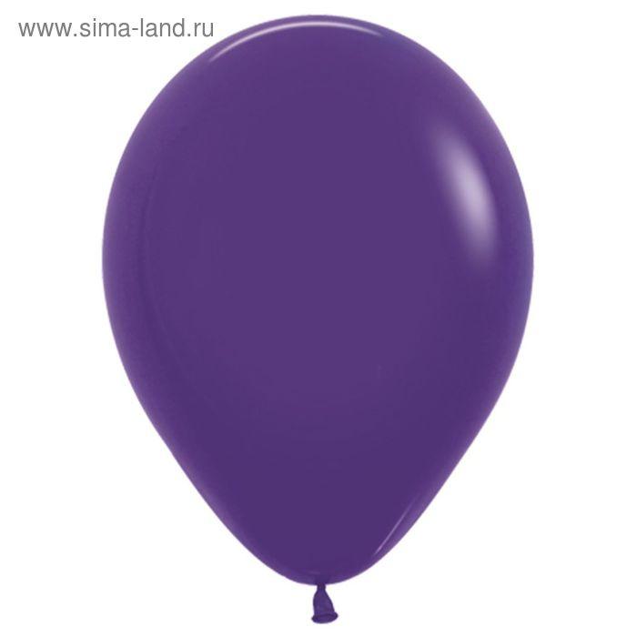 """Шар латексный 12"""", пастель, набор 100 шт., цвет фиолетовый"""