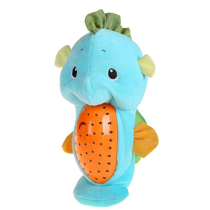 Музыкальная игрушка-ночник «Морской конёк», световые и звуковые эффекты