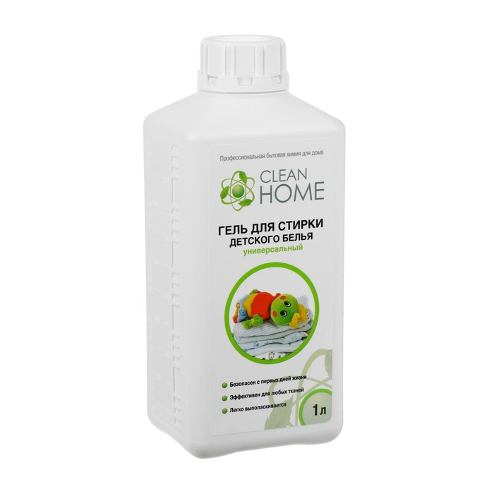 Gel for washing baby clothes Clean home universal, 1L.