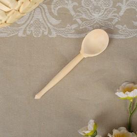 Ложка деревянная, чайная, без росписи Ош