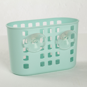 Hinged container on suction cups, MIX color