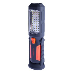 Multifunctional flashlight Bright Bright Optimus, 2 modes: 0.5 W floodlight, camping 36 LED, with magnet and hook for hanging.