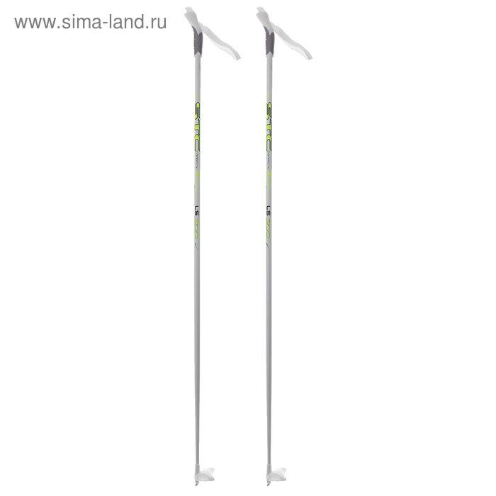 Палки лыжные стеклопластиковые БРЕНД ЦСТ, р.140 см, цвета МИКС