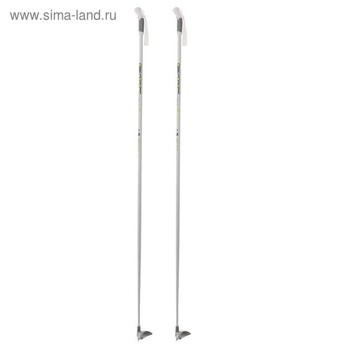 Палки лыжные стеклопластиковые БРЕНД ЦСТ, р. 150 см, цвета МИКС