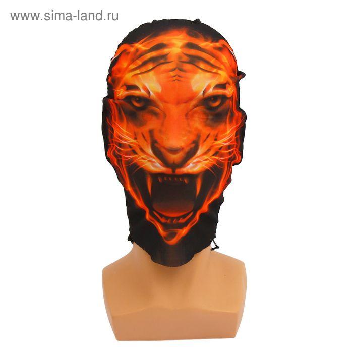 """Карнавальная маска - чулок """"Тигр"""""""