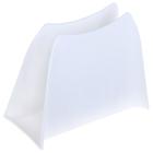 Салфетница Solo, цвет снежно-белый