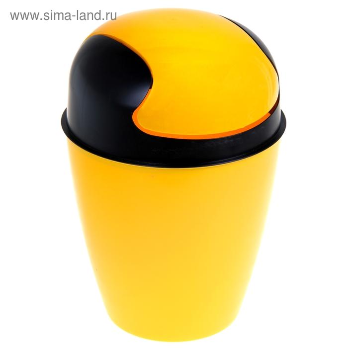 Ведро 8 л Clean, цвет желтый