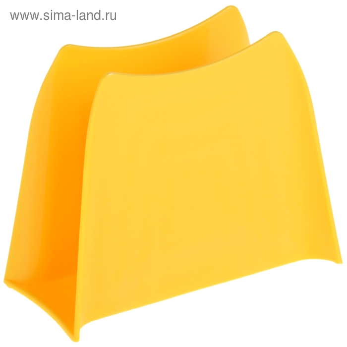 Салфетница Solo, цвет желтый