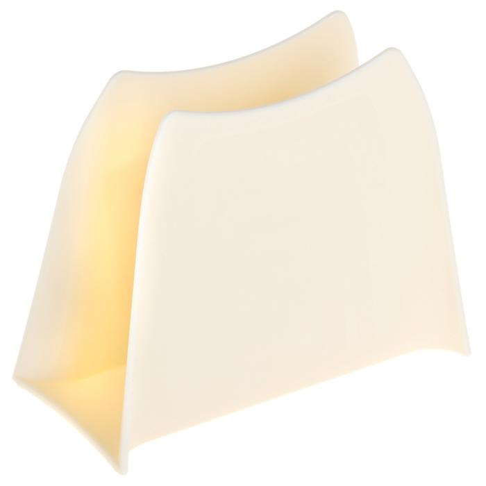 Салфетница Solo, цвет слоновая кость