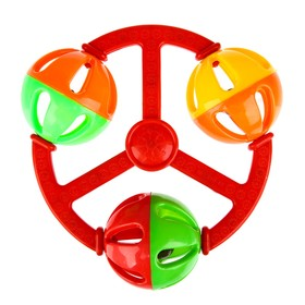 """Rattle """"Ball"""", MIX colors"""