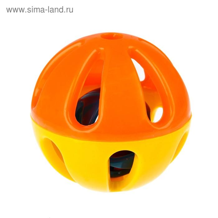 Погремушка «Шар», цвета МИКС