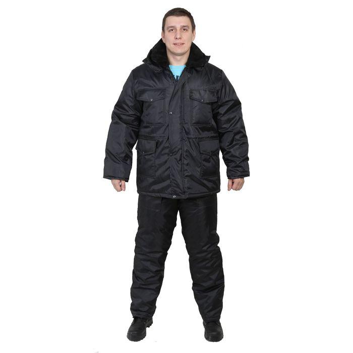 """Костюм """"Телохранитель"""", размер 48-50, рост 170-176 см, цвет чёрный"""