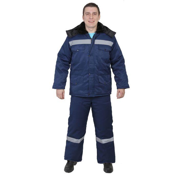 "Костюм ""Мастер-ТС"", размер 52-54, рост 170-176 см, цвет синий"
